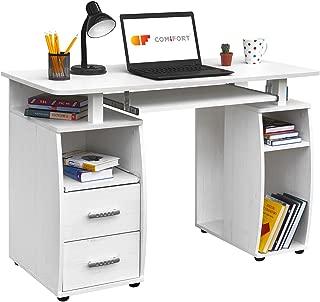 COMIFORT Mesa de Ordenador, Escritorio, Mesa de Oficina,