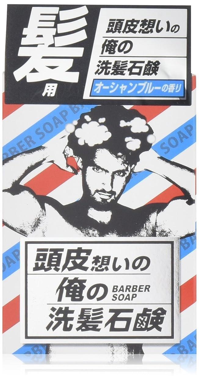 ナイトスポットグレートバリアリーフ乗り出す頭皮想いの俺の洗髪石鹸 60G