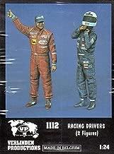 VER1112 1:24 Verlinden Figure Set - Racing Drivers (2 figures) [MODEL BUILDING KIT]