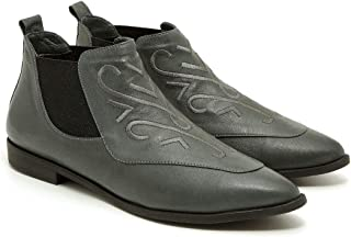 ROBI Model Pointy-Front Cowboy Boots Inspired Womens Shoes