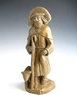 Handmade St. James Statue: Patron Pilgrims, Walkers, Runners