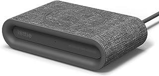 iOttie 【正規品 2台同時充電! ! クオリティーの違う、素早い確実充電】iON ワイヤレス プラス 急速充電 チャージャー Qi チー(認定済み) ワイヤレス充電器 Wireless Plus Fast Charger Qi Charging Pad 充電器 充電パッド 置くだけ充電  iPhone X, 8,8 Plus. 7.5W、 Samsung サムスン S9, Note 10W (USB C Cable & AC アダプター含む) -Ash アッシュ 灰色