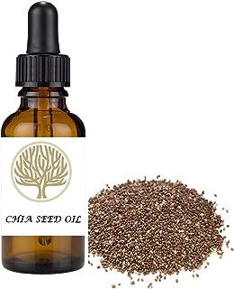 100% NATURAL Chia Seed Virgin Oil. Antioxidant, anti-aging,