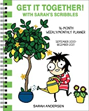 Sarah's Scribbles 16-Month 2020-2021 Weekly/Monthly Planner Calendar: Get It Together! PDF