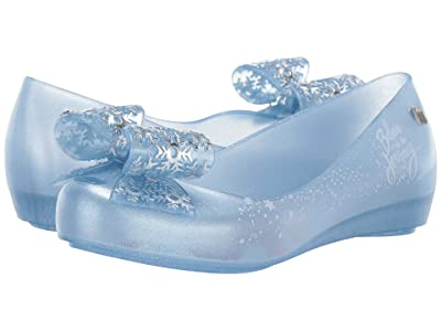 Mini Melissa Mel Ultragirl + Frozen INF (Little Kid/Big Kid) (Pearl Blue Glitter) Girl