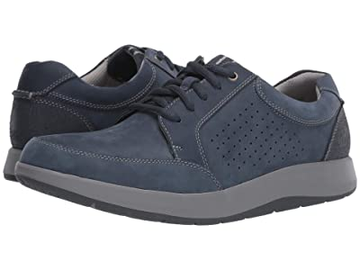 Clarks Shoda Walk (Navy Nubuck) Men