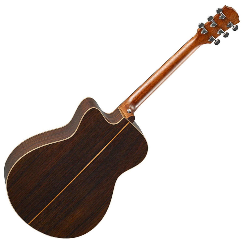 Yamaha ac3r VN una serie concierto tamaño Vintage Natural acústica ...