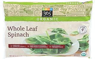 organic frozen spinach brands