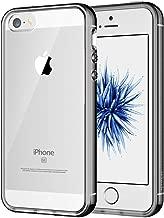 JETech Coque pour iPhone SE, iPhone 5s et iPhone 5, Shock-Absorption et Anti-Rayures, Gris