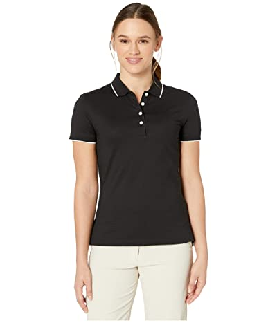 Nike Golf Dry Short Sleeve Ace Polo Pro (Black/Sail/Black) Women