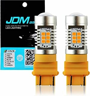 JDM ASTAR 1260 Lumens Extremely Bright PX Chips 3057 3156 3157 4057 4157 Amber Yellow Turn Signal LED Bulbs