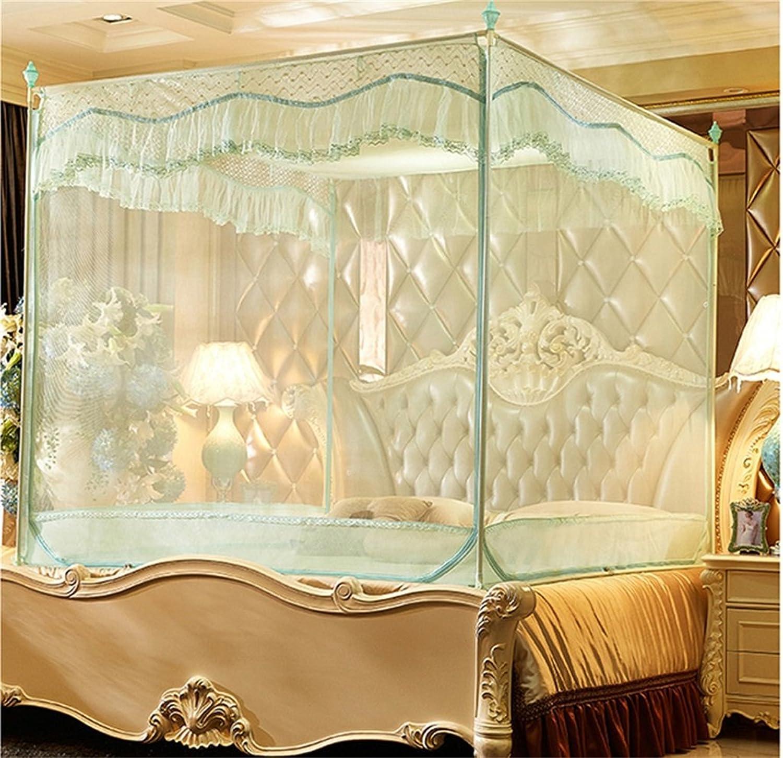 Moskito-Netz-Bett-überdachungs-Zelt-Vorhnge für Betten Schlafzimmer-freie bewegliche Klammer Innenkampierender Student im Freien wenden an 1.2   1.5   1.8m   2m Bett an ( Farbe   B , gre   2M )