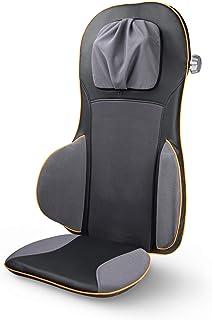 medisana MC 825 Shiatsu-massagekussen, massagezitkussen met acupressuur, nekmassage, opwarmfunctie, 3 intensiteiten, roodl...