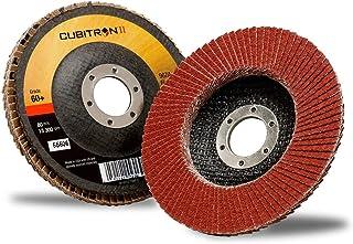 13,300 RPM,T27 Regular Flap Discs 108 Pack Z3-100/% Zirconia 4 1//2,40 Grit,5//8 Arbor