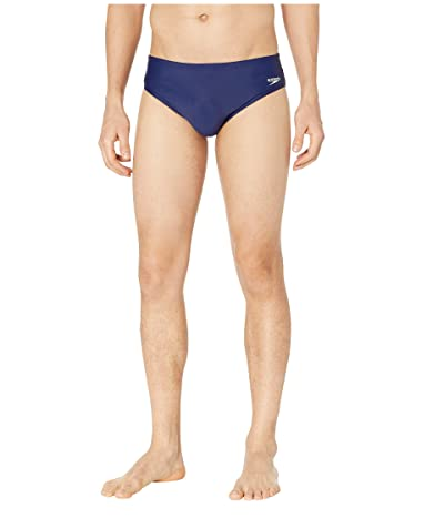 Speedo Core Solid Swim Briefs (Speedo Navy) Men