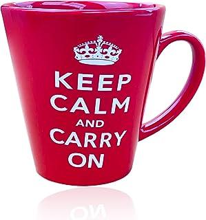 Sterling Product FM005 Premium Quality Ceramic Tea & Coffee Mug, 350 milliliters