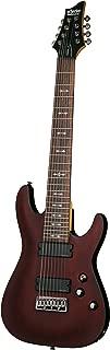 Schecter OMEN-8 8-String Electric Guitar, Walnut Satin