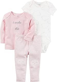Carter's Baby Girls' 3 Piece Cloud Set