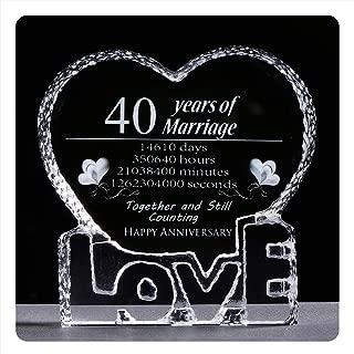 Best 40 year anniversary gift Reviews