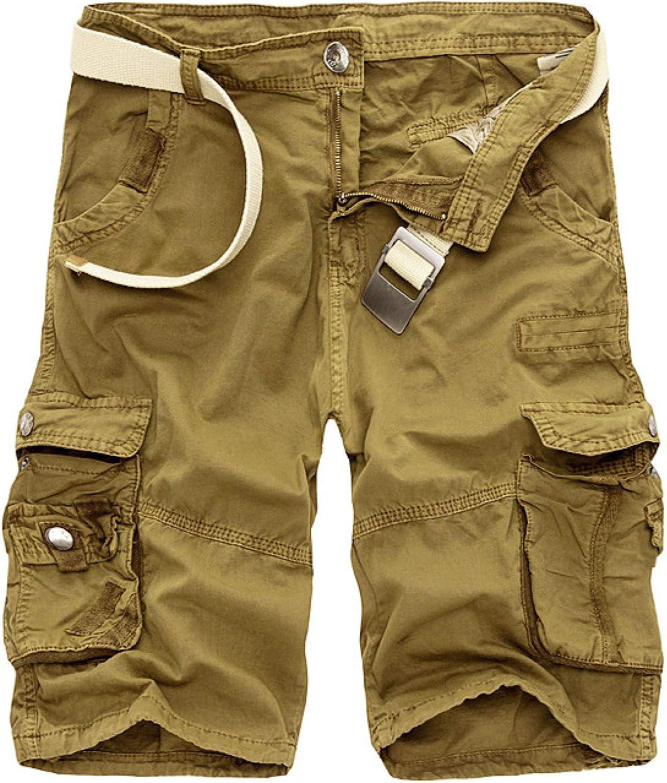 Segindy Men's Cargo Shorts Summer Camouflage Print Outdoor Campi