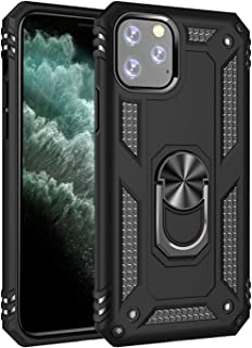 LEADSTAR Compatible with iPhone 11 Pro Max Case 360� Protection Drop Shockproof Ring Stand Cover Back Case Anti-Scratched Flexible Cover Cases for iPhone 11 Pro Max (6.5inch)