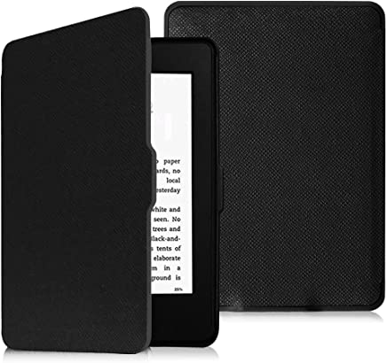 Fintie Slimshell Case for Kindle Paperwhite - Fits All Paperwhite Generations Prior to 2018 (Not Fit All-New Paperwhite 10th Gen), Black