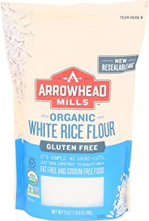 Arrowhead Mills Flour White Rice Organic, 24 oz
