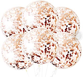 Rose Gold Metallic Balloon for Birthday Decorations - Large, 36 Inch | Rose Gold Balloons for Baby Girl, Boy | Giant Rose ...