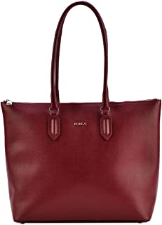 Furla Pin Ladies Medium Red Ciliegia Leather Tote 984312