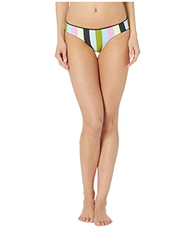 Maaji Sublime Reversible Signature Coverage Bikini Bottoms (Artemis Black Rib) Women