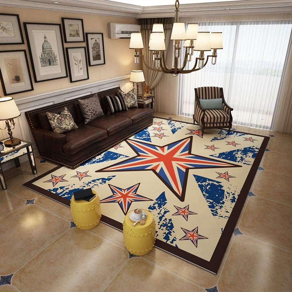 Area Rugs for Living Room Retro Flag Contemporary shopping Ab Over item handling ☆ Art UK