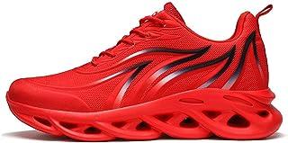 N\C Flying Woven Mesh Scarpe da uomo, Scarpe sportive casual, Scarpe da corsa, Traspiranti e leggere