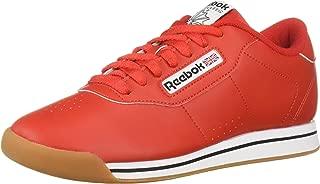 Reebok Women's Princess Sneaker, Techy red/White/Gum