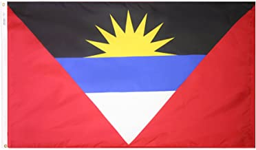 product image for Annin Flagmakers Model 190348 Antigua & Barbuda Flag 3x5 ft. Nylon SolarGuard Nyl-Glo 100% Made in USA to Official United Nations Design Specifications.