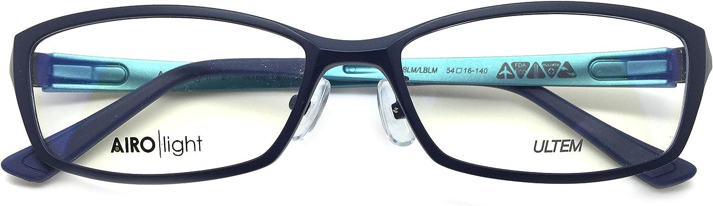 Airo Light 27 Eye Glasses Frame Ultem Super Light, Flexible Frame BLM LBLM