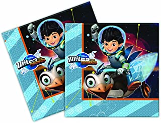 Unique Party 72271 - Miles from Tomorrowland Paper Napkins, Pack of 20