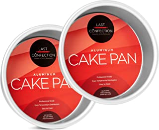 Last Confection 2-Piece Round Cake Pan Set - 6