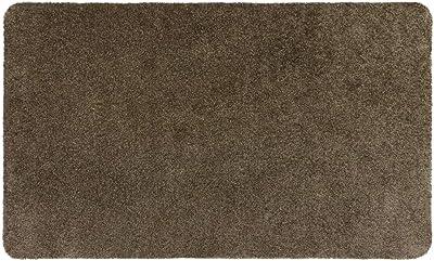 JVL SOLEMATE Eco - Friendly Door Mat, Truffle, Brown, One Size