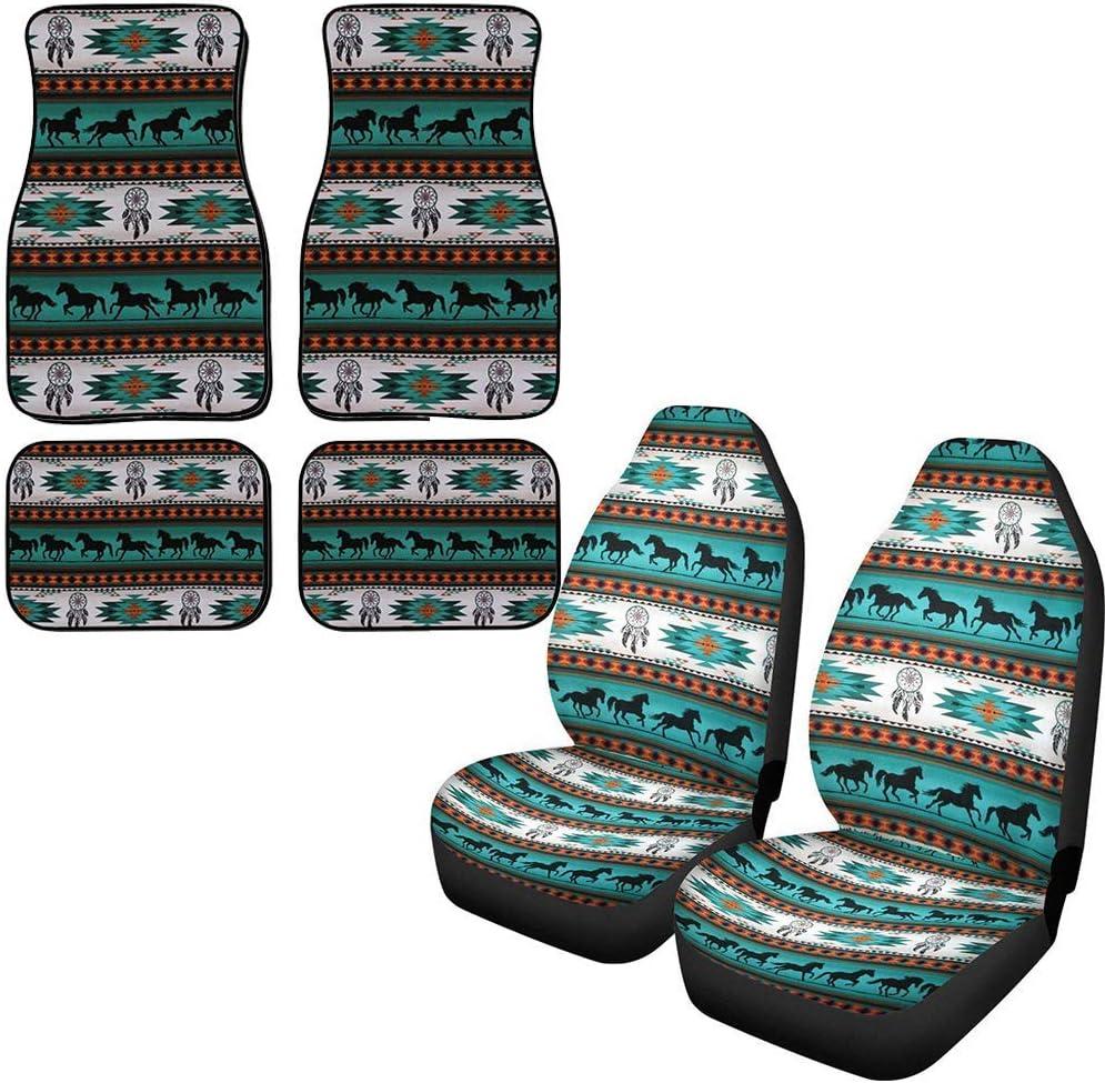 Columbus Mall PZZ Navajo Car Seat Covers Includes Front Pcs 4 Auto 2 Import