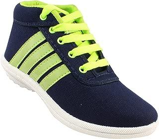 Claptrap Boys Lace Sneakers Blue, Green