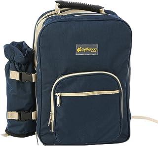 Picnic Bag Outdoor 4 Persons Picnic Backapck Rucksack Portable Camping BBQ Lunch Bag with Tableware Set Picnic Bags (Color...