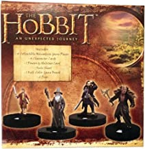 Hobbit Mini-Game - Unexpected Journey Heroclix - with 4 Movie Figures