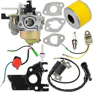 Butom GX160 GX200 5.5HP 6.5HP Carburetor with Tune Up Kit for Honda GX140 GX168 5HP Engine WP30X Water Pump 16100-ZH8-W61