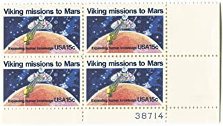 #1759 - 1978 15c Viking Mission to Mars Plate Block US Stamps