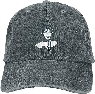 CVNJSDF Whitney Houston Adjustable Unisex Hat Baseball Caps Black
