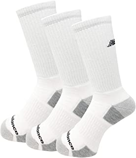 New Balance 3 Pack Crew Performance Socks