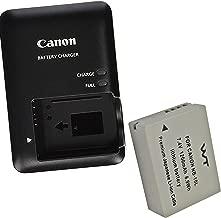 Canon CB-2LC Charger for Canon NB-10L Li-ion Battery compatible with Canon PowerShot G1 X, G3-X, G15, G16, SX40 HS, SX50 HS,SX60 HS + Bonus Battery!