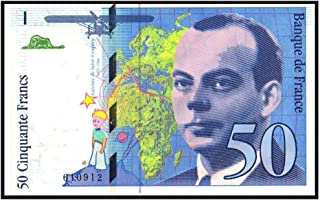 1993 FR THE LITTLE PRINCE BANKNOTE!! FRANCE'S MOST LEGENDARY & SOUGHT AFTER TREASURE! CRISP UNCIRCULATED! 50 Francs Crisp Uncirculated