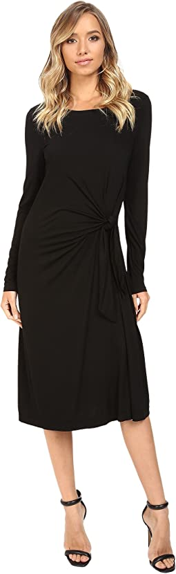 Whitney B. - Long Sleeve Twist Dress