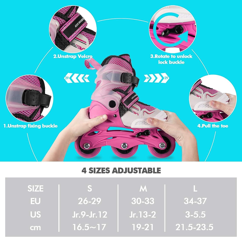 Buy SEBA Girls Inline Skates Size 20 20, Feet Length 120.20cm   20cm ...